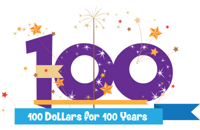 $100 for 100 Years Campaign