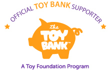 Toy Bank Badge